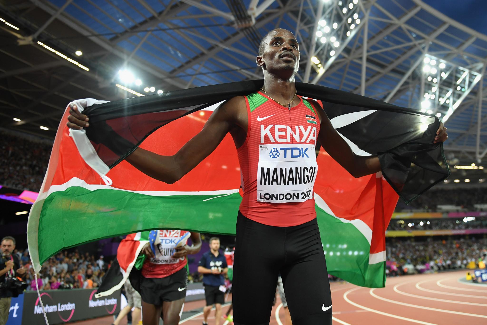 World 1500m gold medallist Manangoi latest Kenyan banned after missing drugs tests