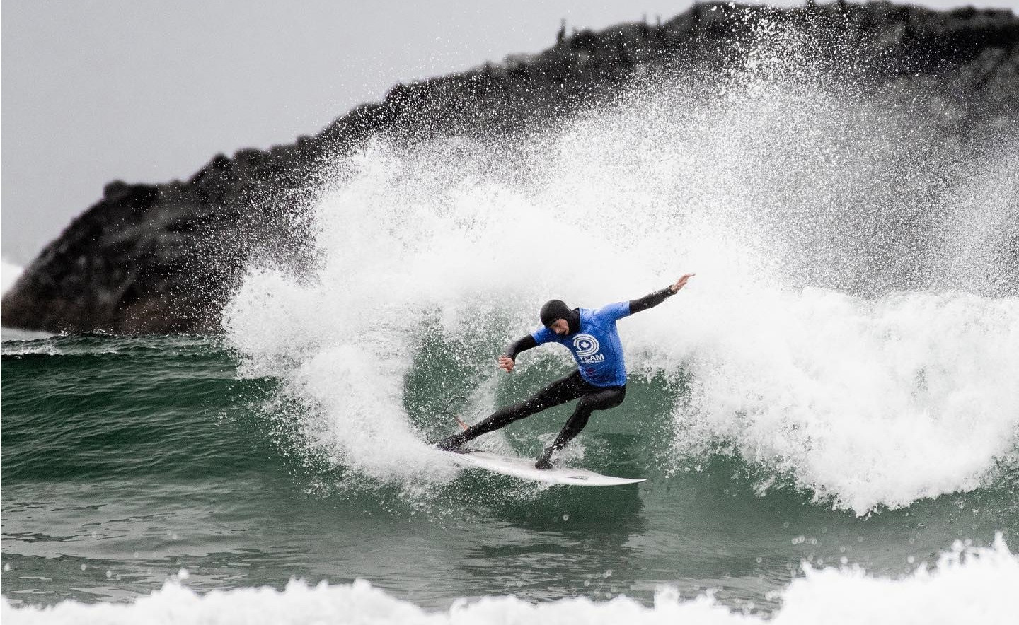 Canadian surfers took part in an invite-only competition in Vancouver ©Surf Canada