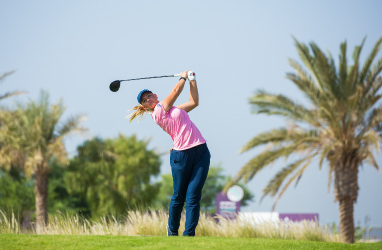 Hall and Pedersen level at top as Saudi Ladies International nears conclusion