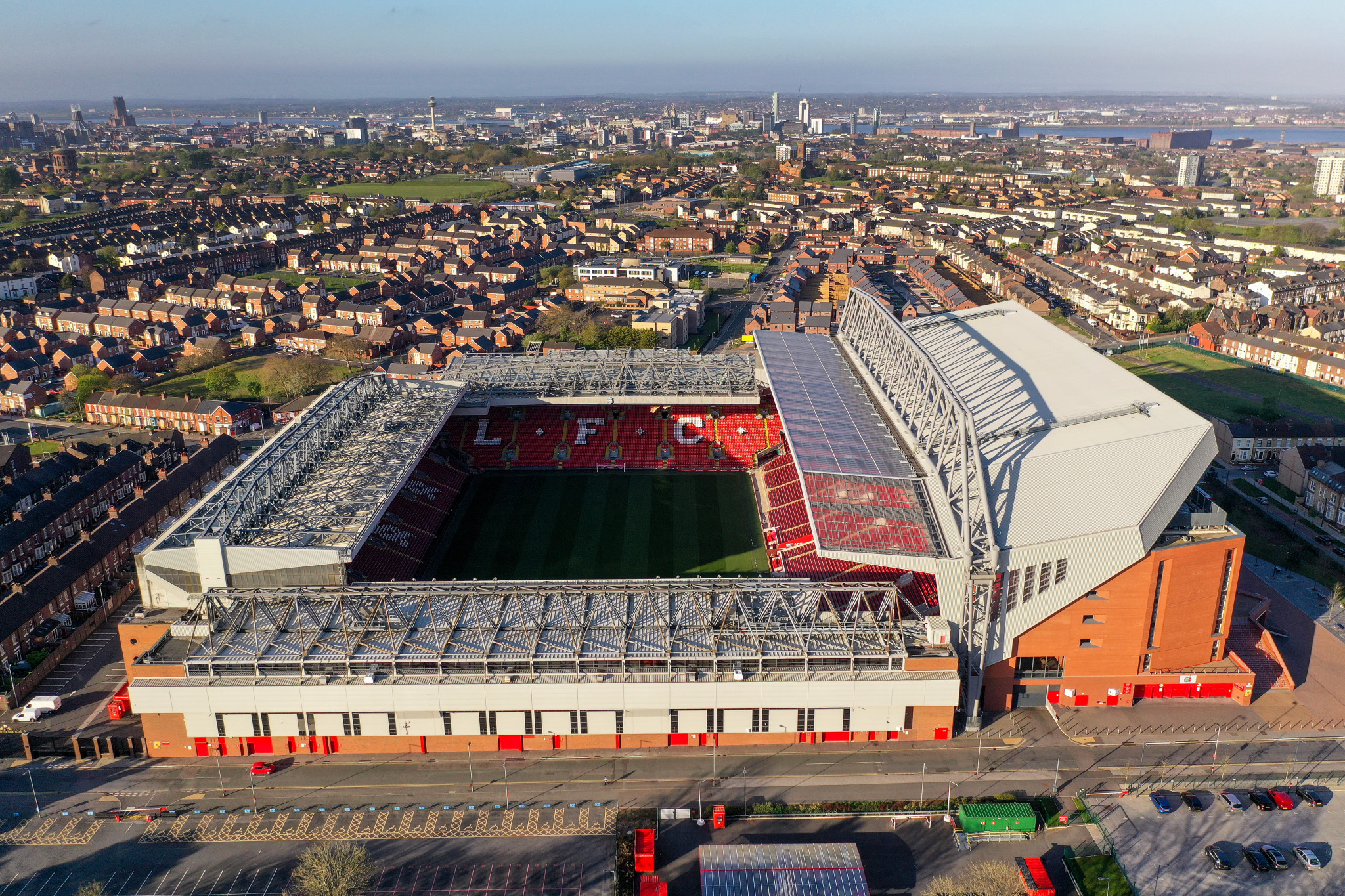 """A """"Mental Fitness Match"""" is scheduled to take place at Anfield during the 2021 Rugby League World Cup ©Getty Images"""