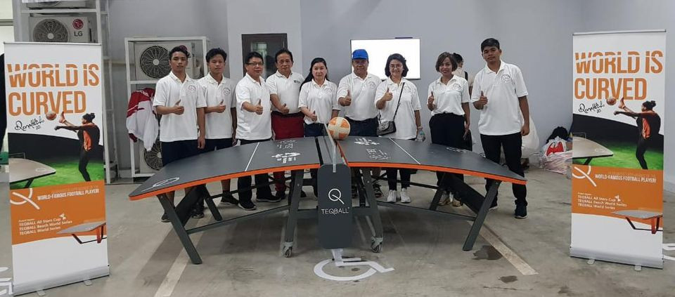 Indonesia currently has seven active teqball clubs with potential national team players set to be recruited from there initially ©Teqball Indonesia