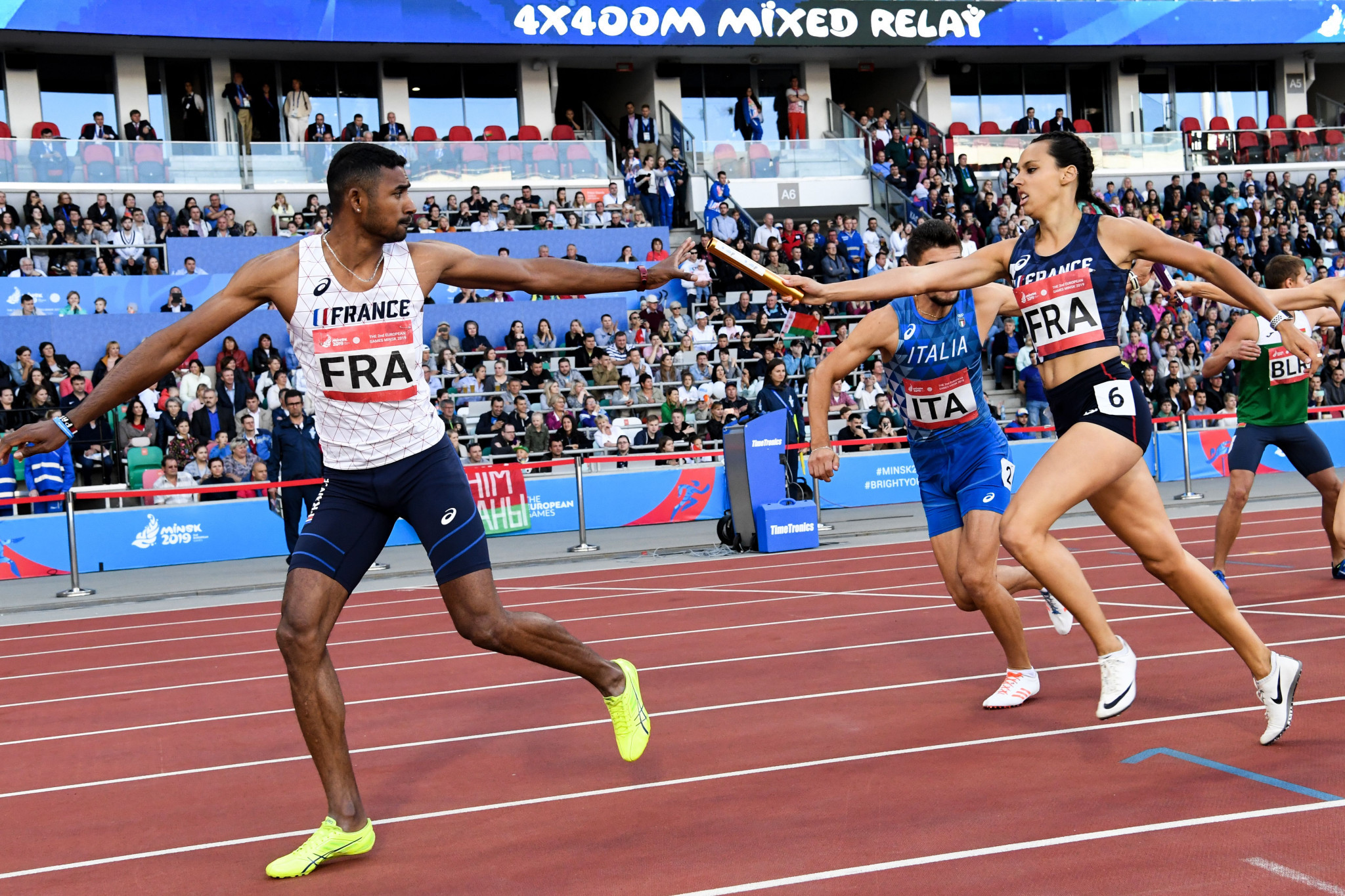 European Athletics trialled