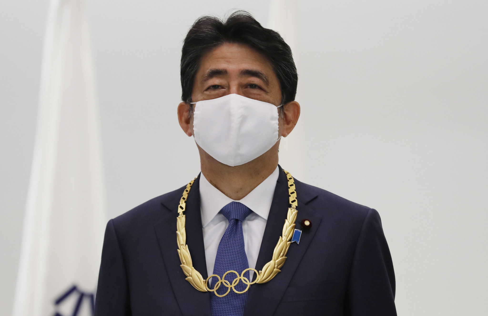 Former Japanese Prime Minister Shinzō Abe has been awarded the gold Olympic Order ©Getty Images