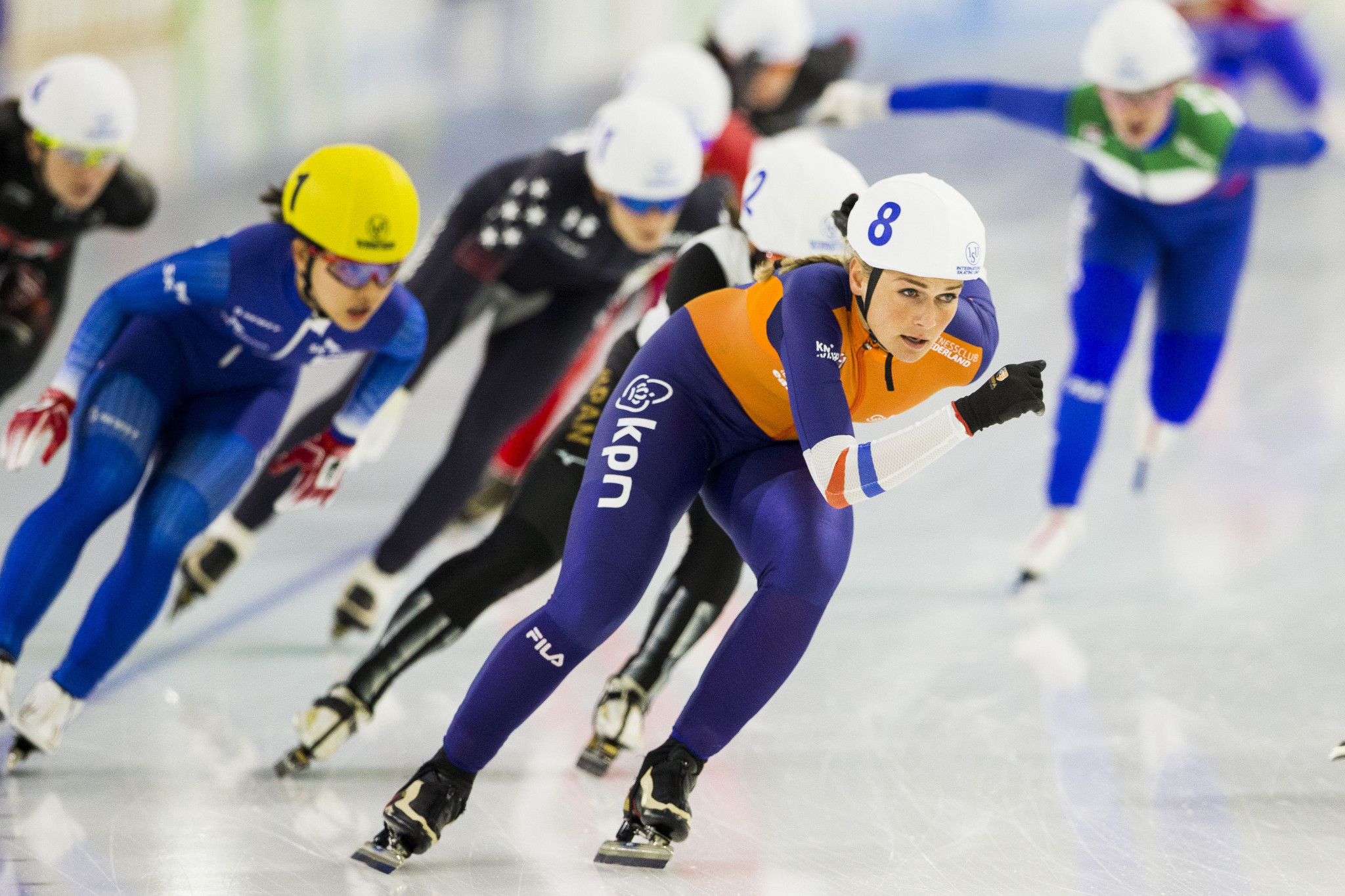 The ISU is evaluating alternative locations for the World Speed Skating Championships ©Getty Images