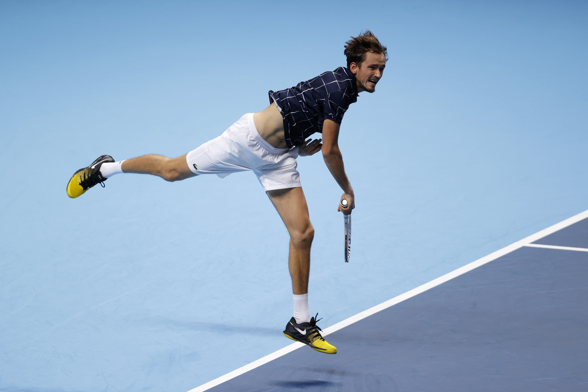 Daniil Medvedev was victorious in her first round-robin match at the ATP Finals, as he defeated Alex Zverev in a repeat of the Paris Masters final eight days previously ©Getty Images