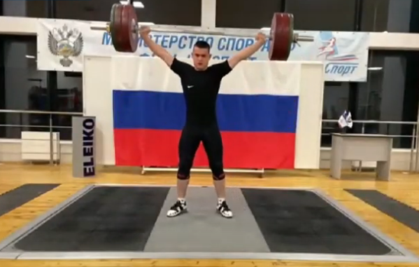 Moguchev earns three golds for Russia at IWF Online Youth World Cup