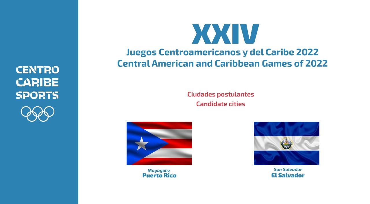 Puerto Rico and El Salvador bid for 2022 Central American and Caribbean Games
