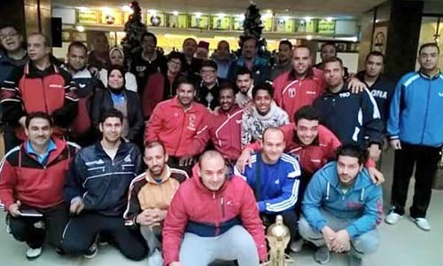 Egyptian Para-table tennis players due to compete in Rio attend level one coaching course