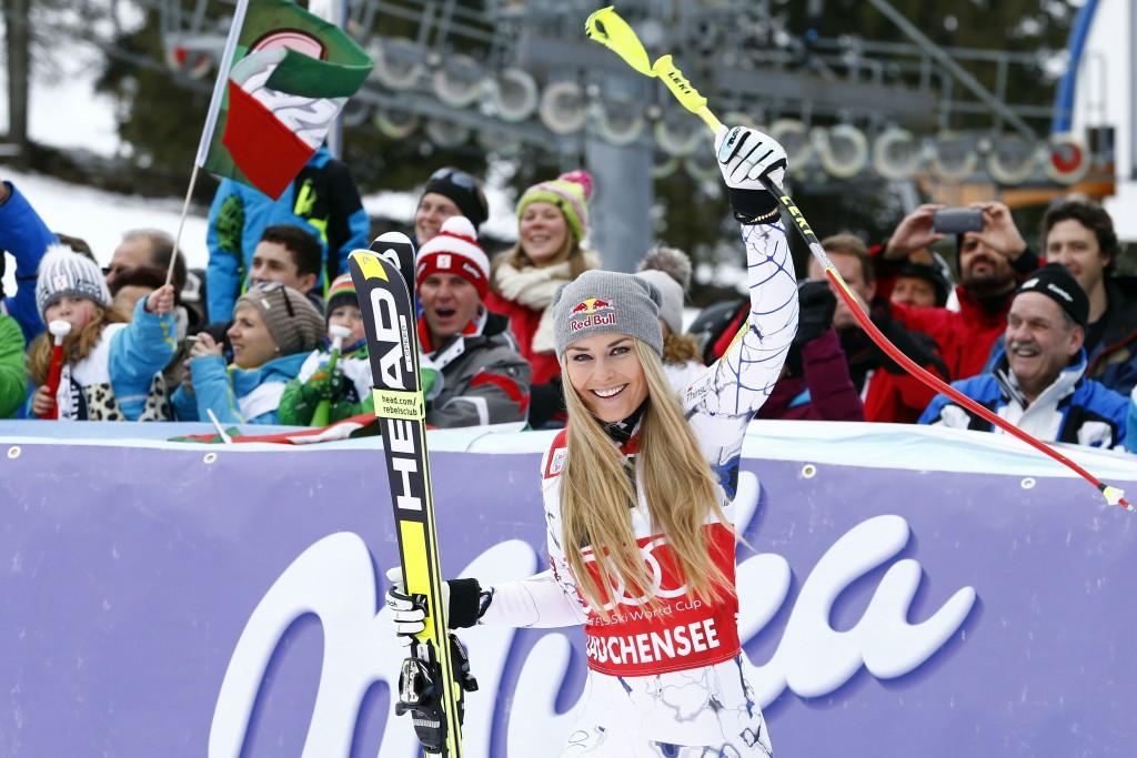 Vonn seals perfect FIS Alpine World Cup weekend as Kristoffersen slaloms to success