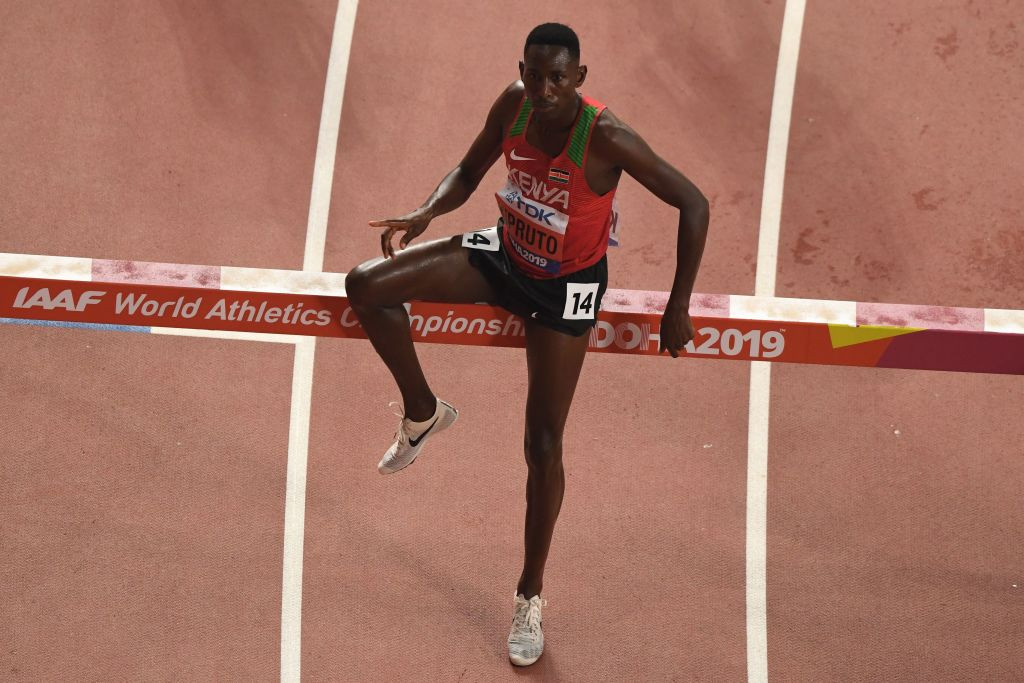 Olympic steeplechase champion Kipruto charged with having sex with minor