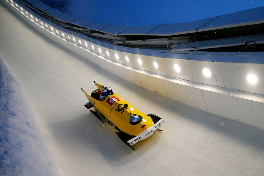 Francesco Friedrich is among the German bobsledders to have completed a test run in the new simulator ©Getty Images