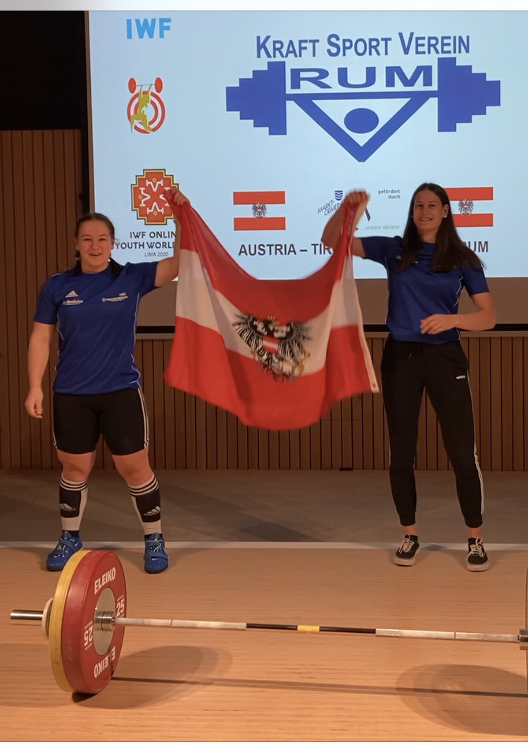 Victoria Steiner of Austria earned three bronze medals in the women's 76kg contest ©IWF
