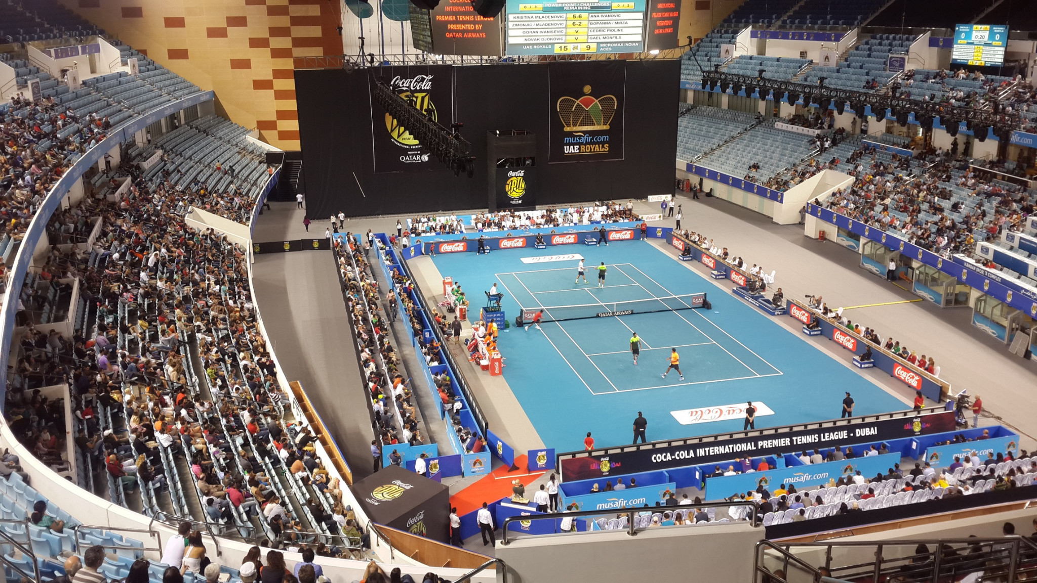 The Hamdan Sports Complex has been offered for Tokyo 2020 training camps ©DSC