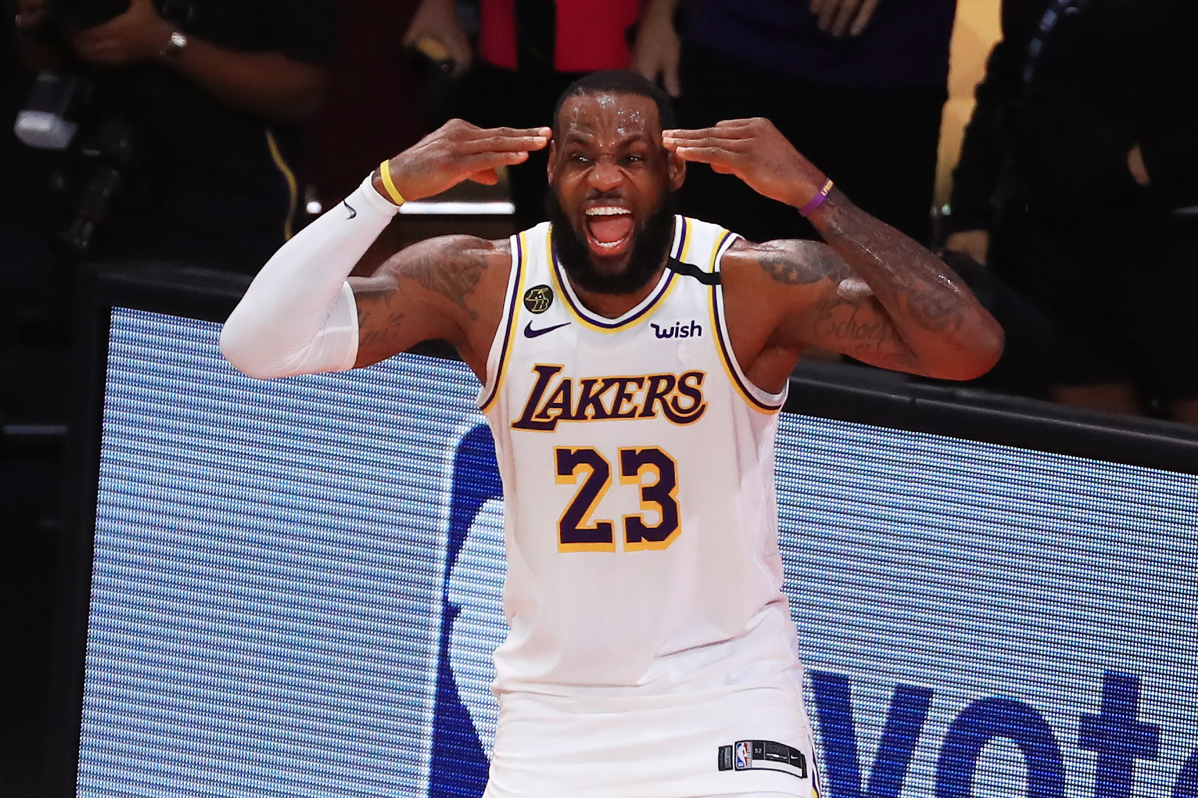 LeBron James is a reigning champion with the Los Angeles Lakers and could miss Tokyo 2020 if his team make the NBA Finals ©Getty Images