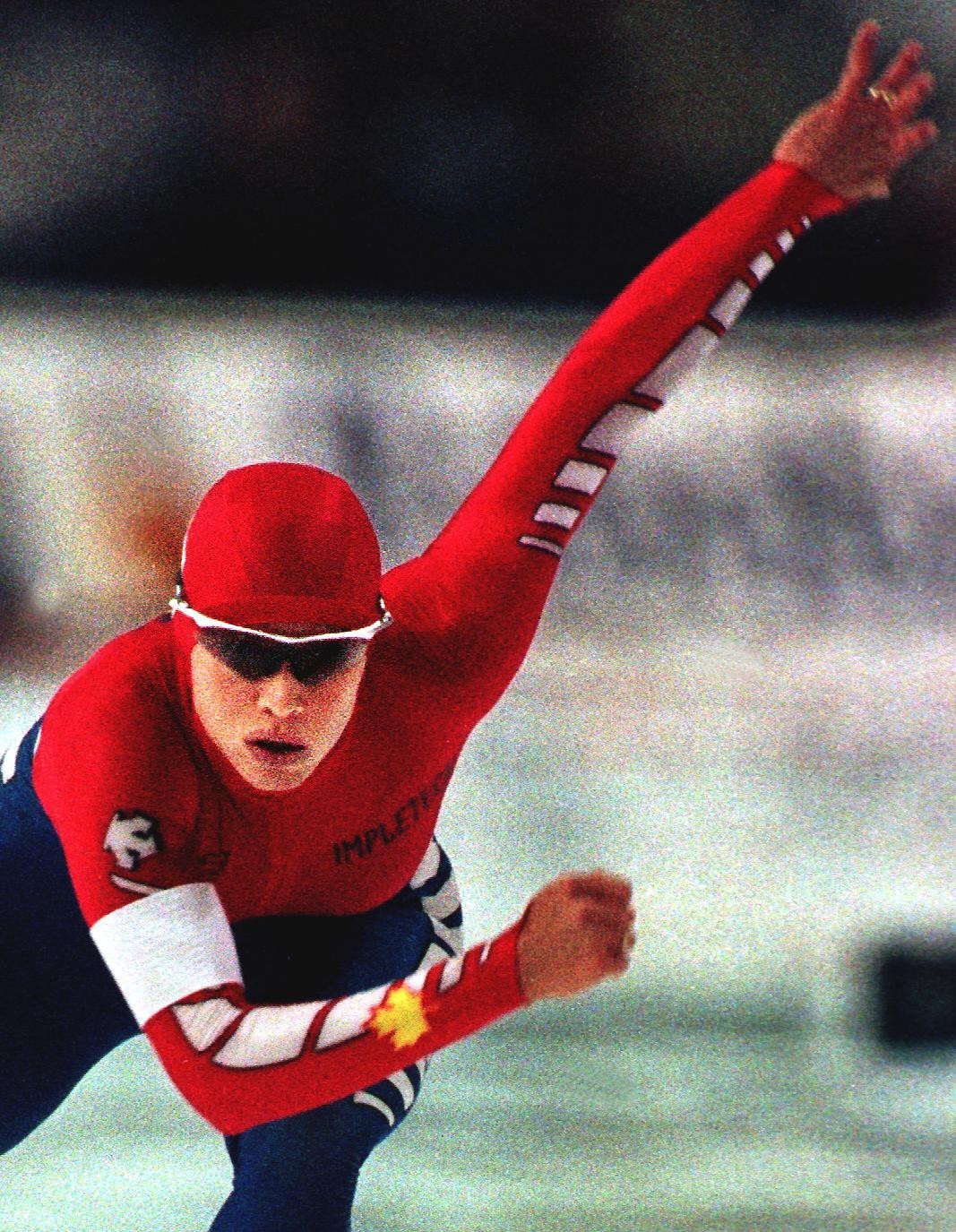Catriona Le May Doan won back-to-back Olympic speed skating titles ©Getty Images