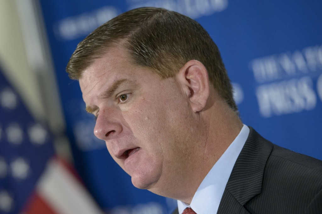 Boston Mayor Marty Walsh claims the IOC sought to prevent a referendum on Boston 2024 ©Getty Images