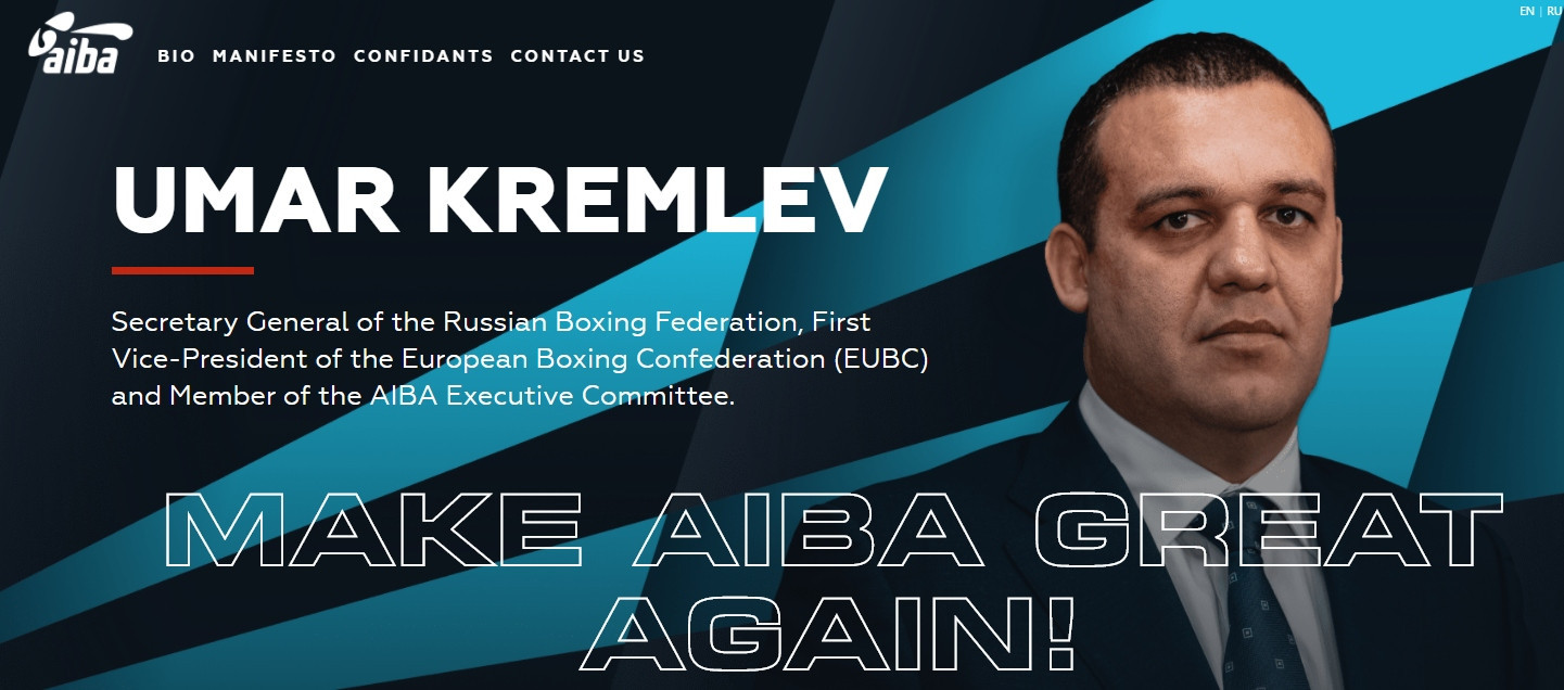 Kremlev launches AIBA President campaign website as promises digital revolution if elected