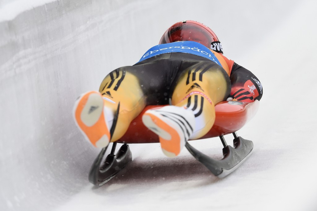 The victory for Felix Loch saw him move into second place on the overall Luge World Cup leaderboard