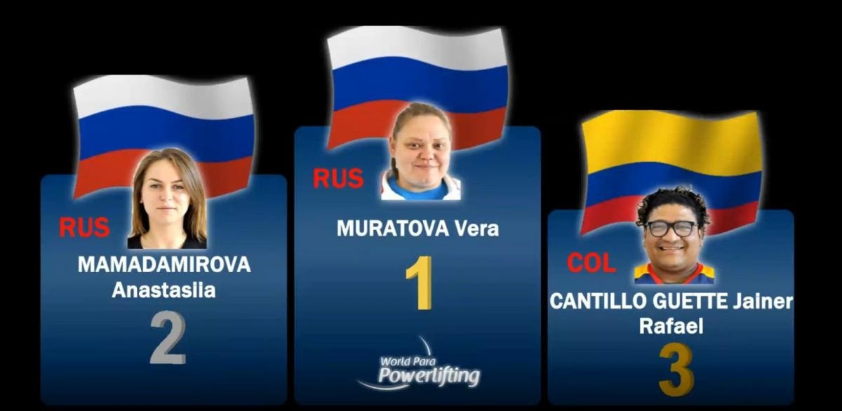 Muratova wins World Para Powerlifting Online World Cup in dominant fashion