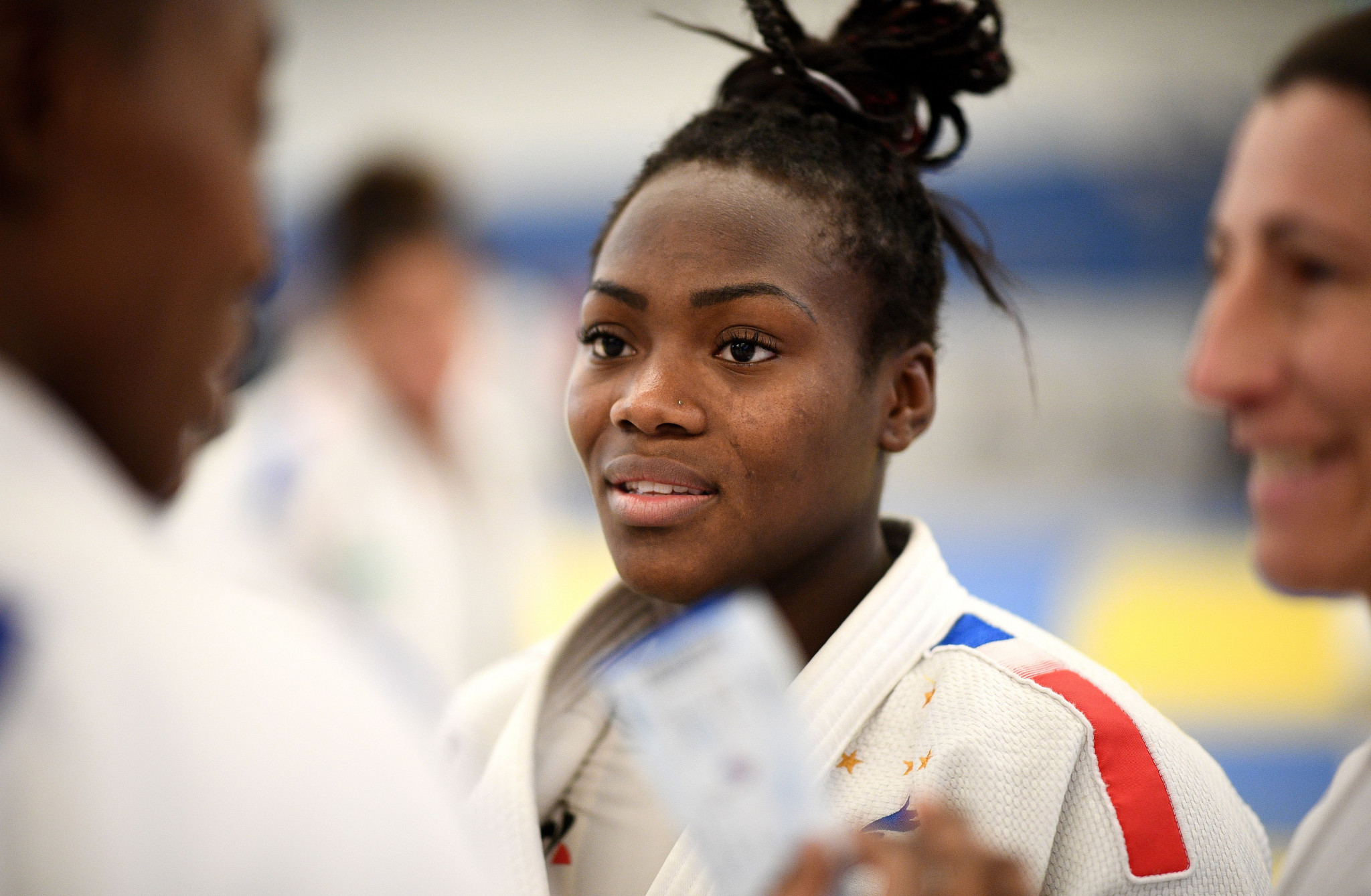 Clarisse Agbegnenou of France is the women's under-63kg top seed ©Getty Images