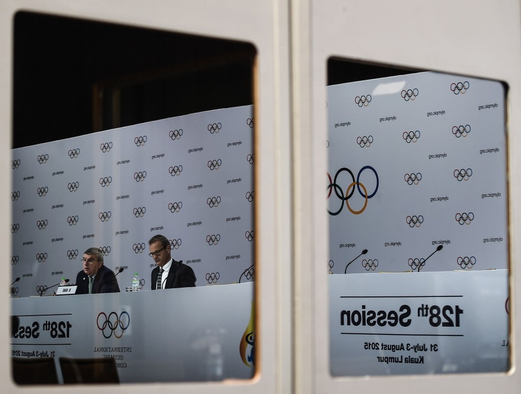Intenational Olympic Committee President Thomas Bach blamed Boston organisers for the bid's failure when speaking during the IOC Session in Kuala Lumpur last July, shortly after the city had withdrawn ©Getty Images