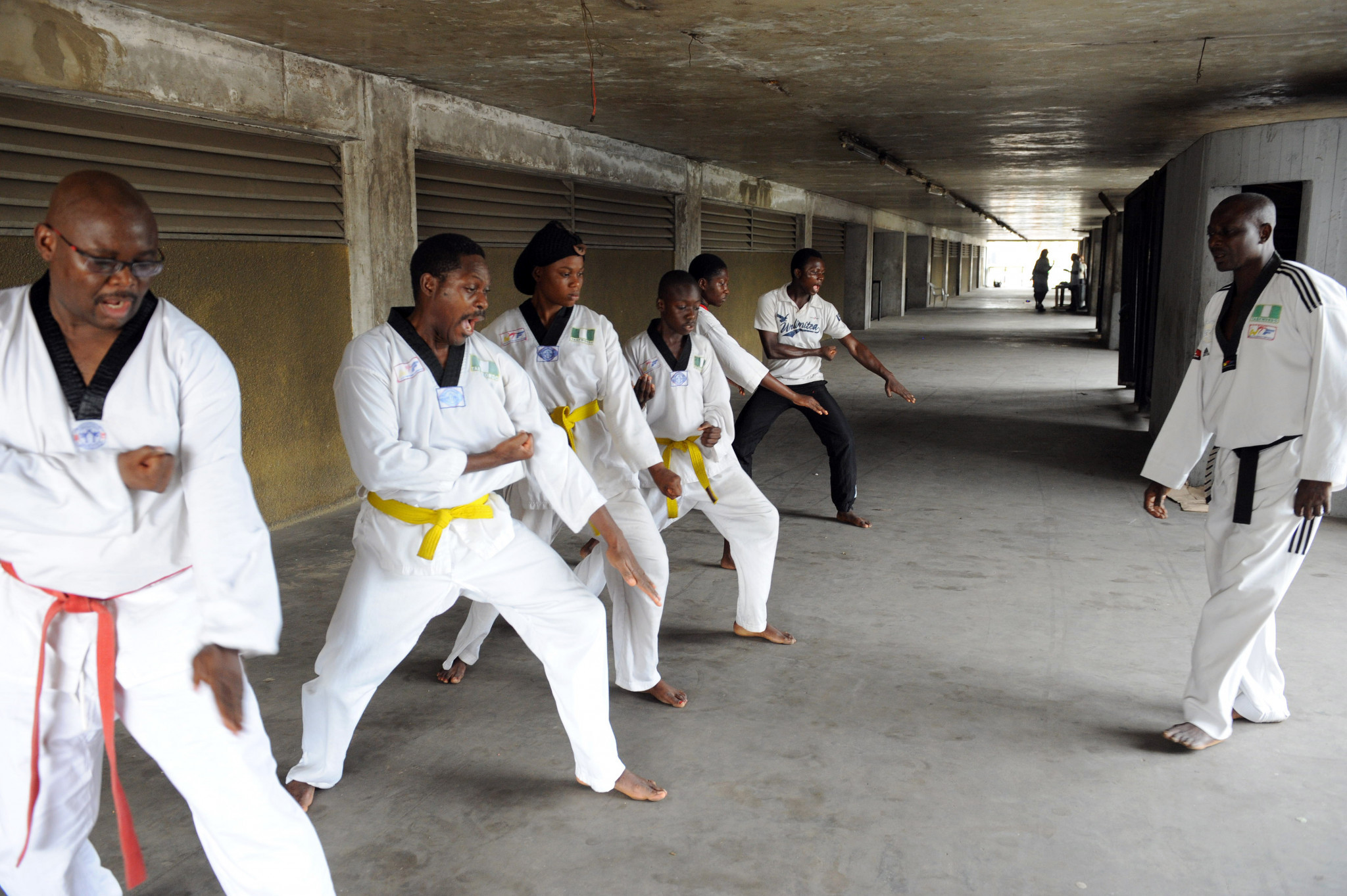 Taekwondo equipment gifted to 12 Nigerian clubs by Korean Cultural Centre