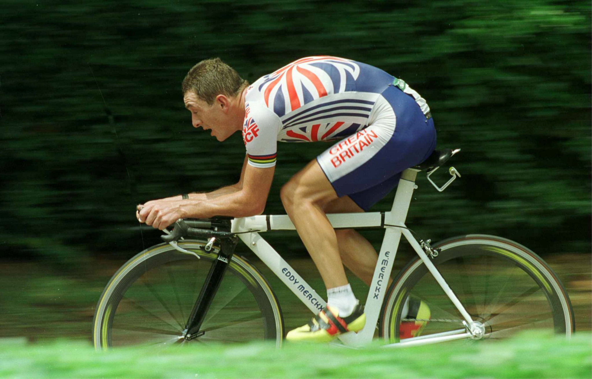 Olympic gold medallist Chris Boardman sparked an era of success in British cycling ©Getty Images
