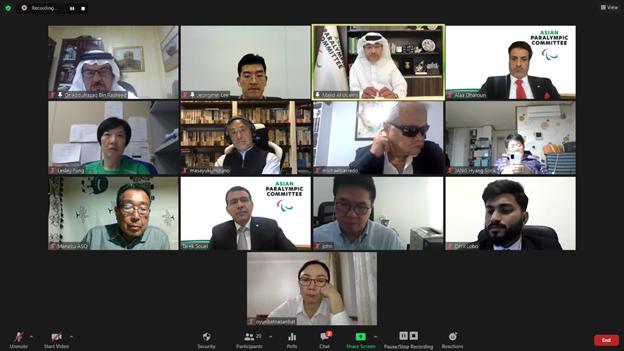 APC's Executive Board held a virtual meeting on November 16 and 17 ©APC