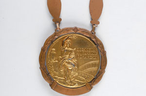 Wilbert McClure's boxing gold medal at the Rome 1960 Olympics will be among items up for sale at the auction ©RRAuction