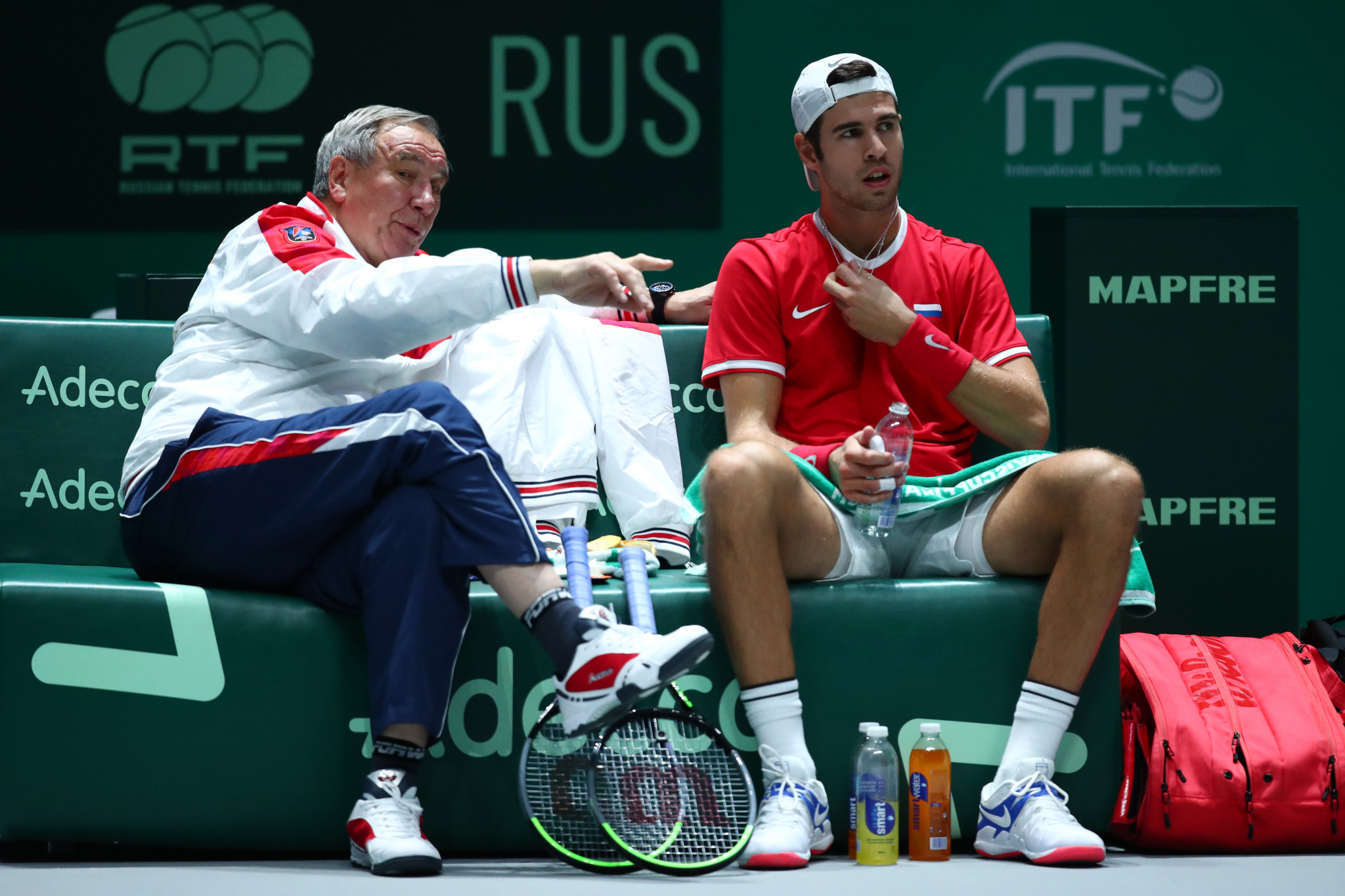 Shamil Tarpishchev is captain of Russia's Davis Cup team ©Getty Images