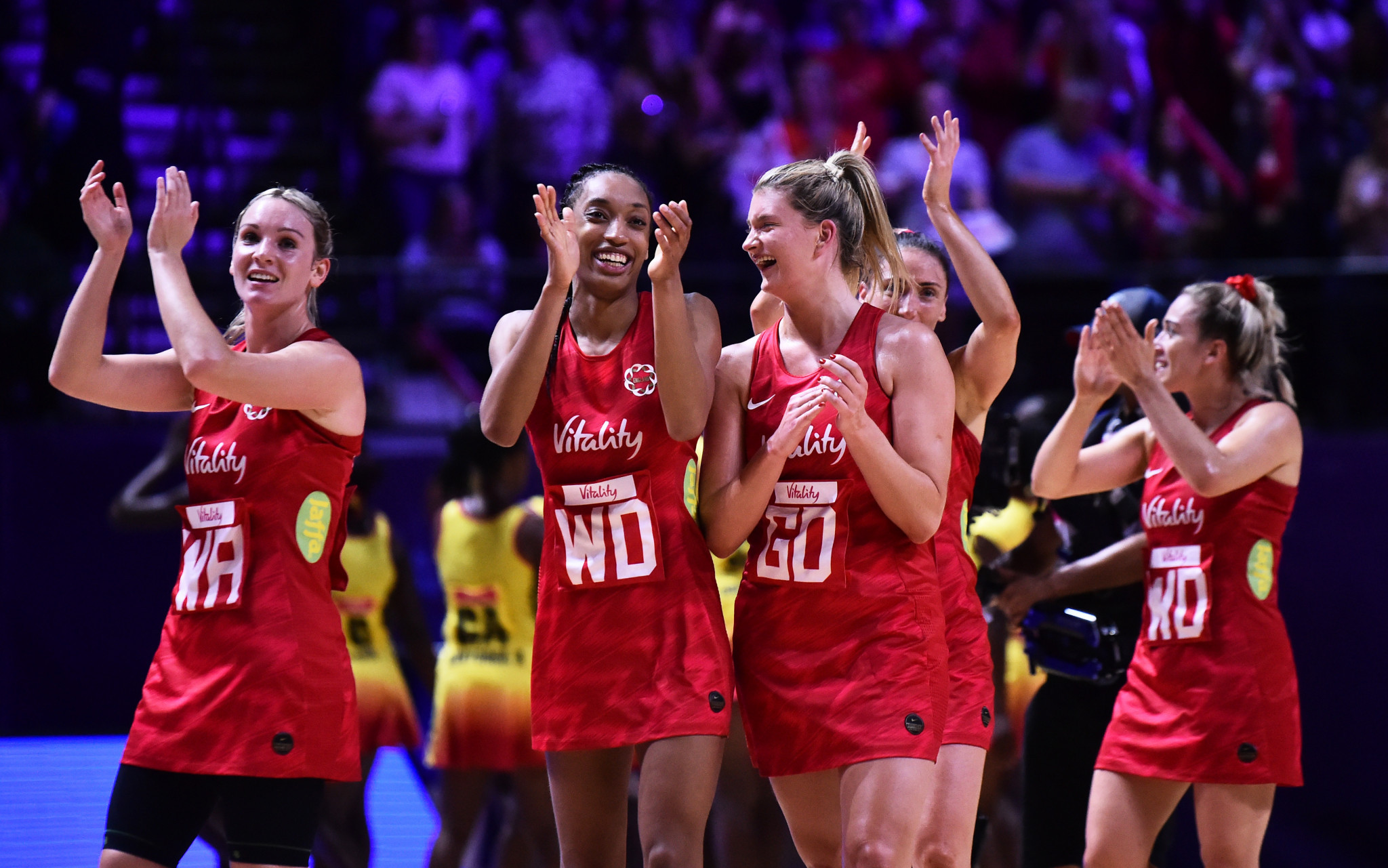 England Netball has extended its partnership with Red Bull until 2023 ©Getty Images