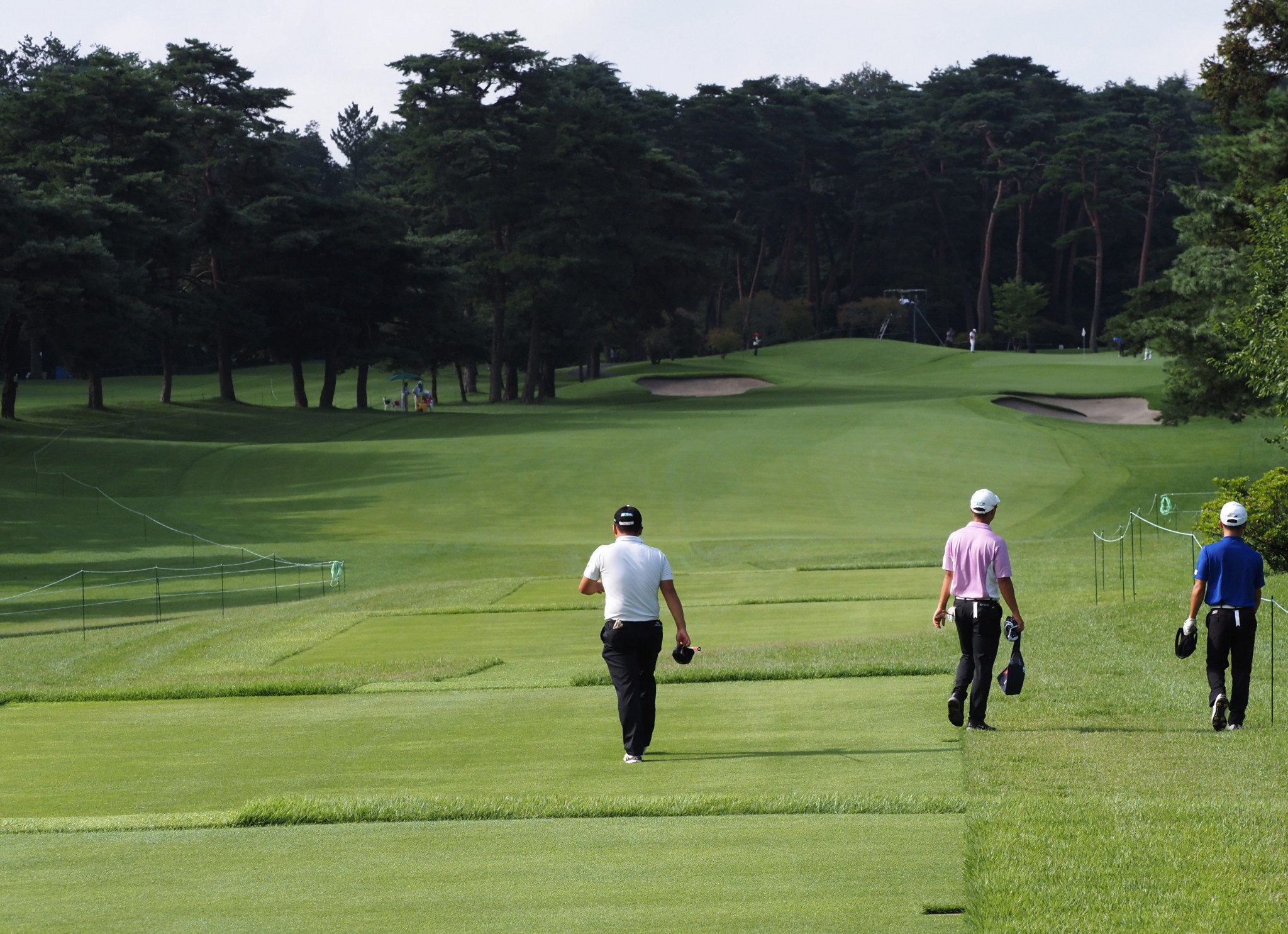 The Tokyo 2020 golf contest is set to be held at Kasumigaseki Country Club ©Getty Images