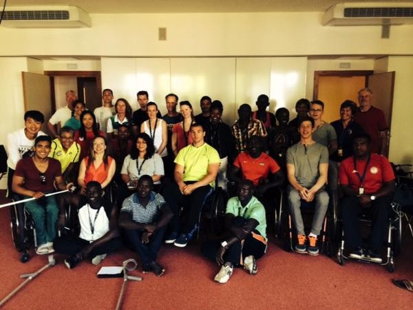 Para-rowers participate in latest installment of IPC's Proud Paralympian education programme