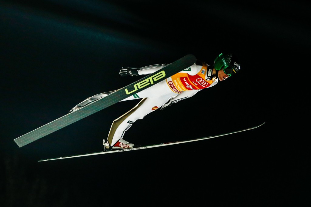 Peter Prevc put in another superb display to extend his overall Ski Jumping World Cup lead