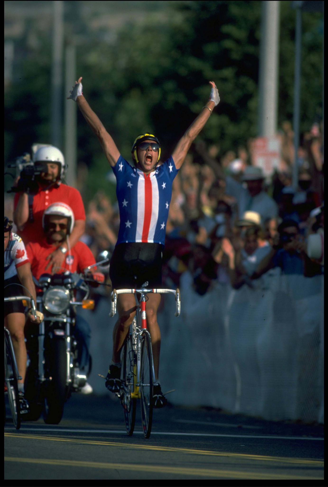 Before Los Angeles 1984, the United States had not won an Olympic cycling medal since Stockholm 1912 but then won four golds, including Alexi Grewal in the men's road race ©Getty Images