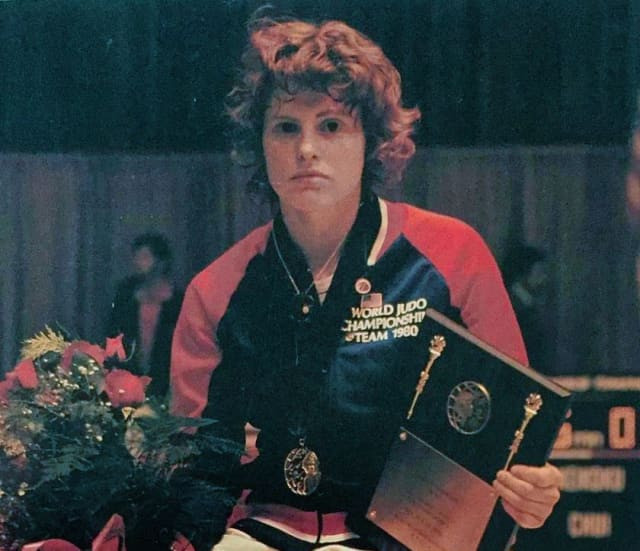 Born on 4th February 1960 in England, Jane Bridge is known for being among the first women in history to become world judo champion. © IJF
