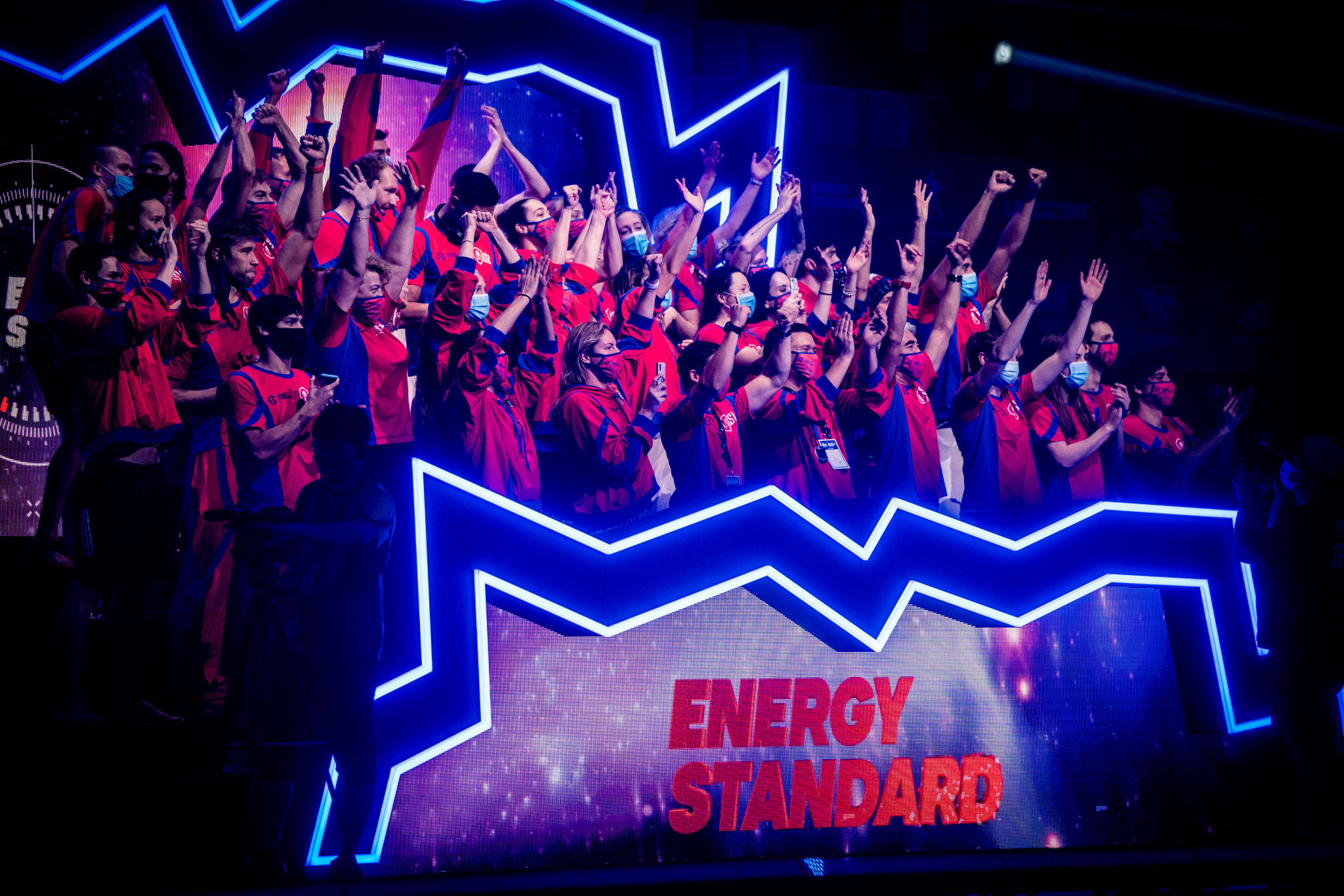Energy Standard will aim to retain the title they earned last year ©ISL