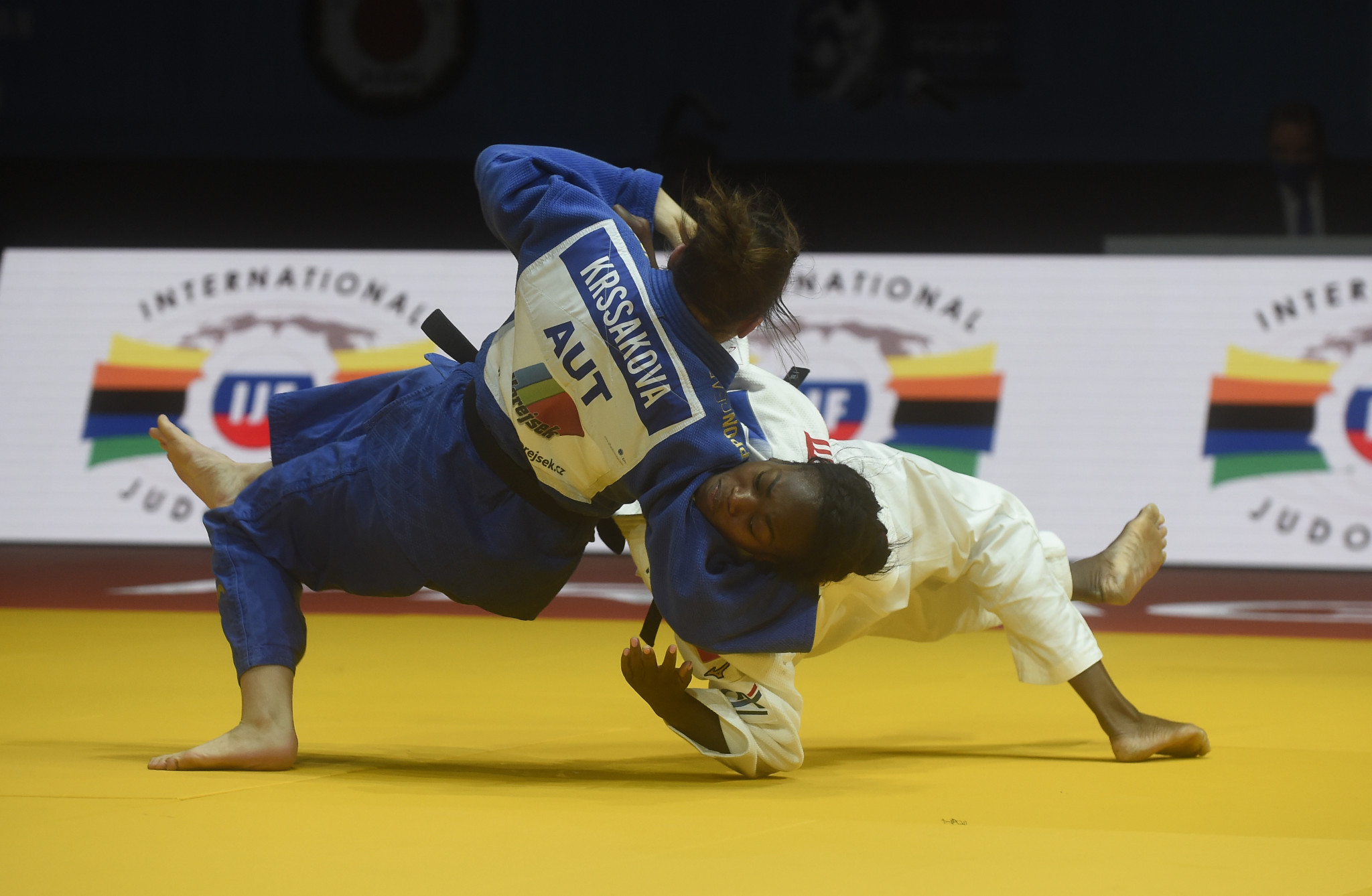 Supreme Agbegnenou wins fifth title at European Judo Championships