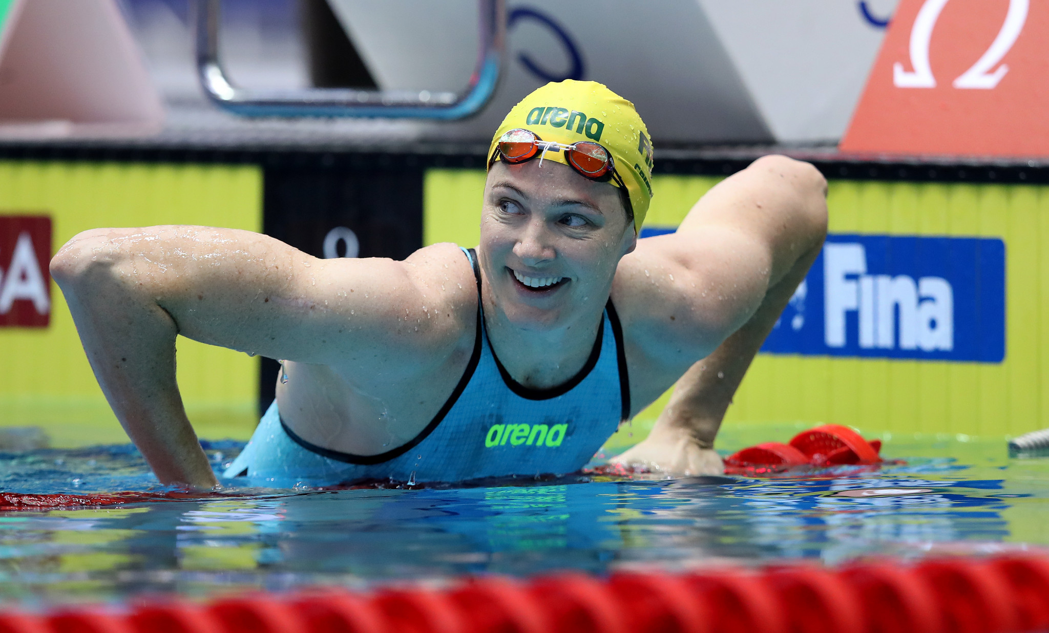 Australian swimmer Cate Campbell has been critical of the anti-doping system ©Getty Images