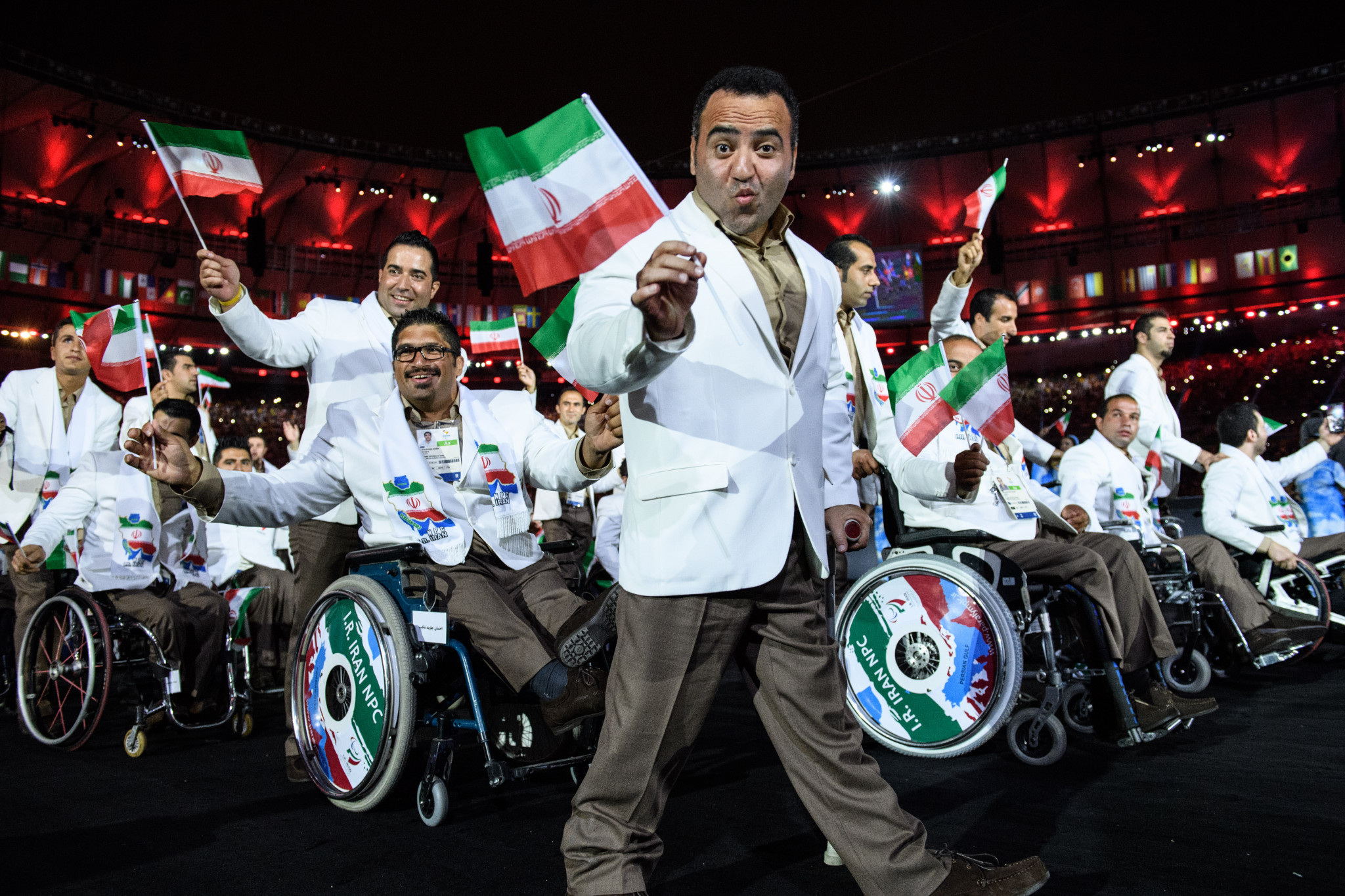 A record 110 Iranian Para athletes competed at Rio 2016, winning 24 medals ©Getty Images