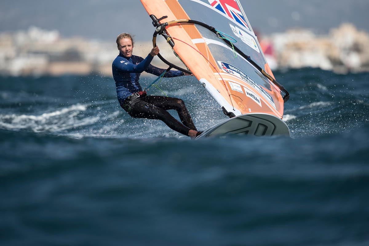 Emma Wilson will be one of the favourites in the women's category ©British Sailing