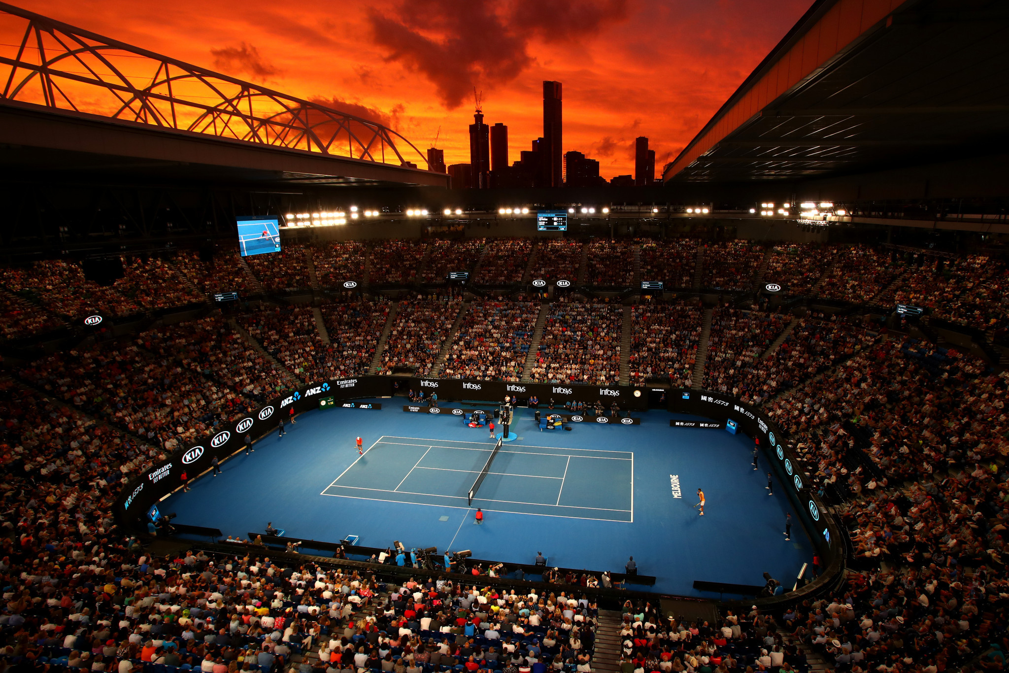 Organisers optimistic for Australian Open despite coronavirus measures