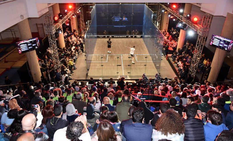 Draw made for PSA Black Ball Squash Open