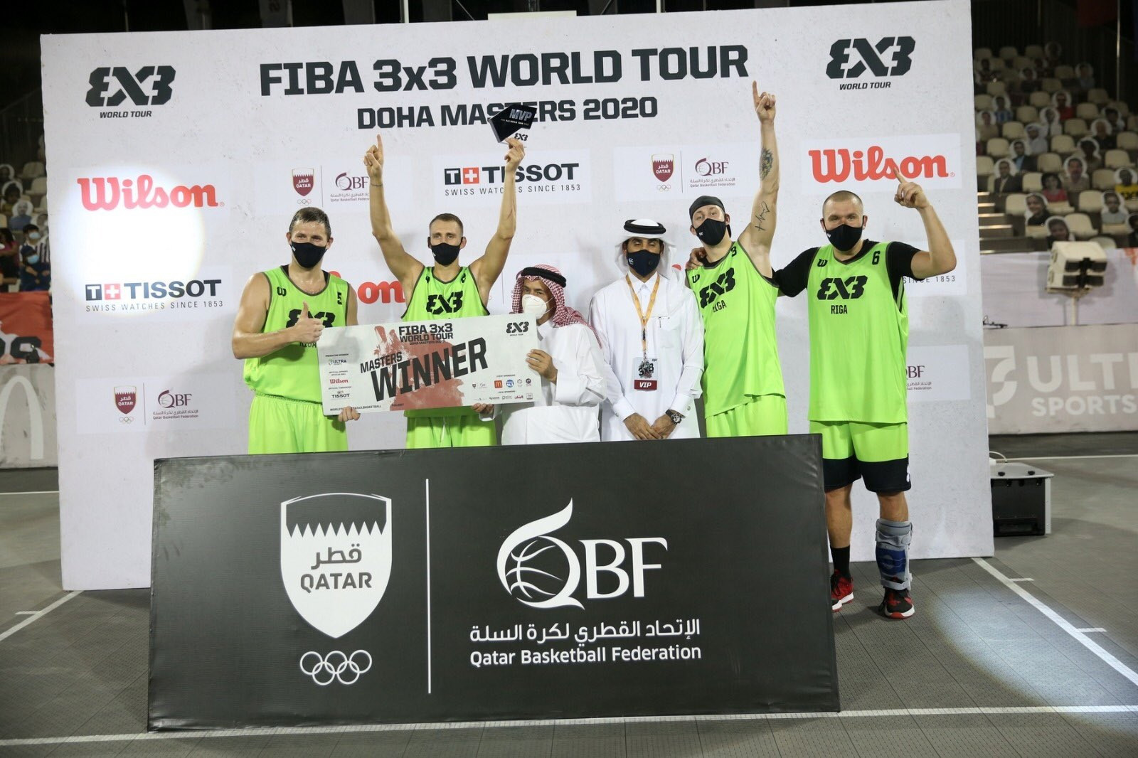 Riga retain 3x3 World Tour Doha Masters title with dramatic win over Liman
