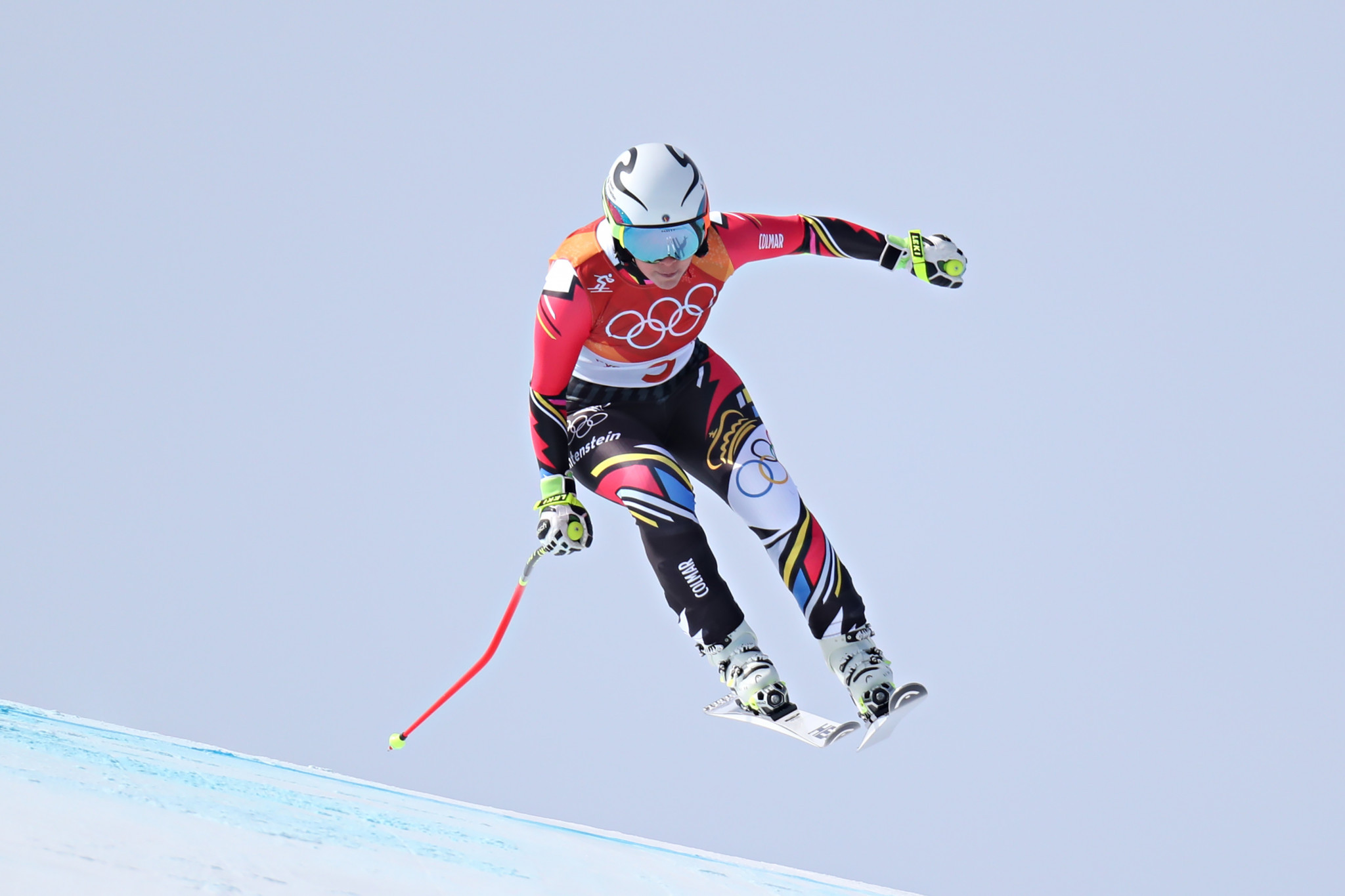 Tina Wierather's bronze in the women's Super-G at Pyeongchang 2018 was Liechtenstein's most recent Olympic medal ©Getty Images