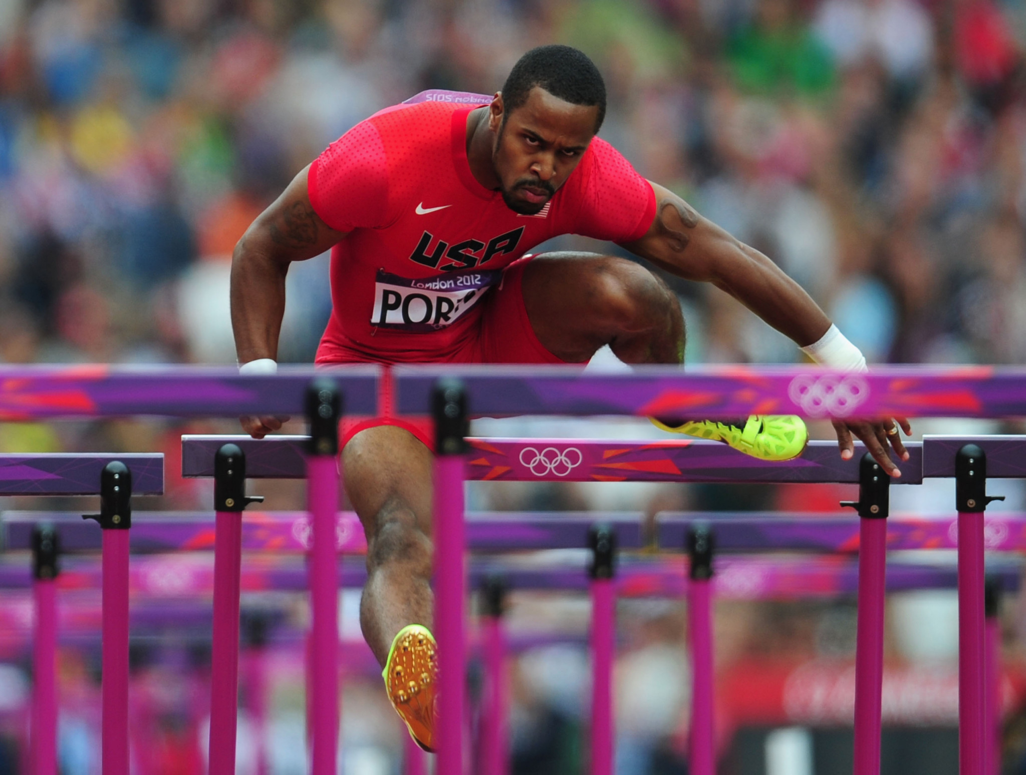 American hurdler Jeff Porter will sit on the WADA Athlete Committee next year ©Getty Images