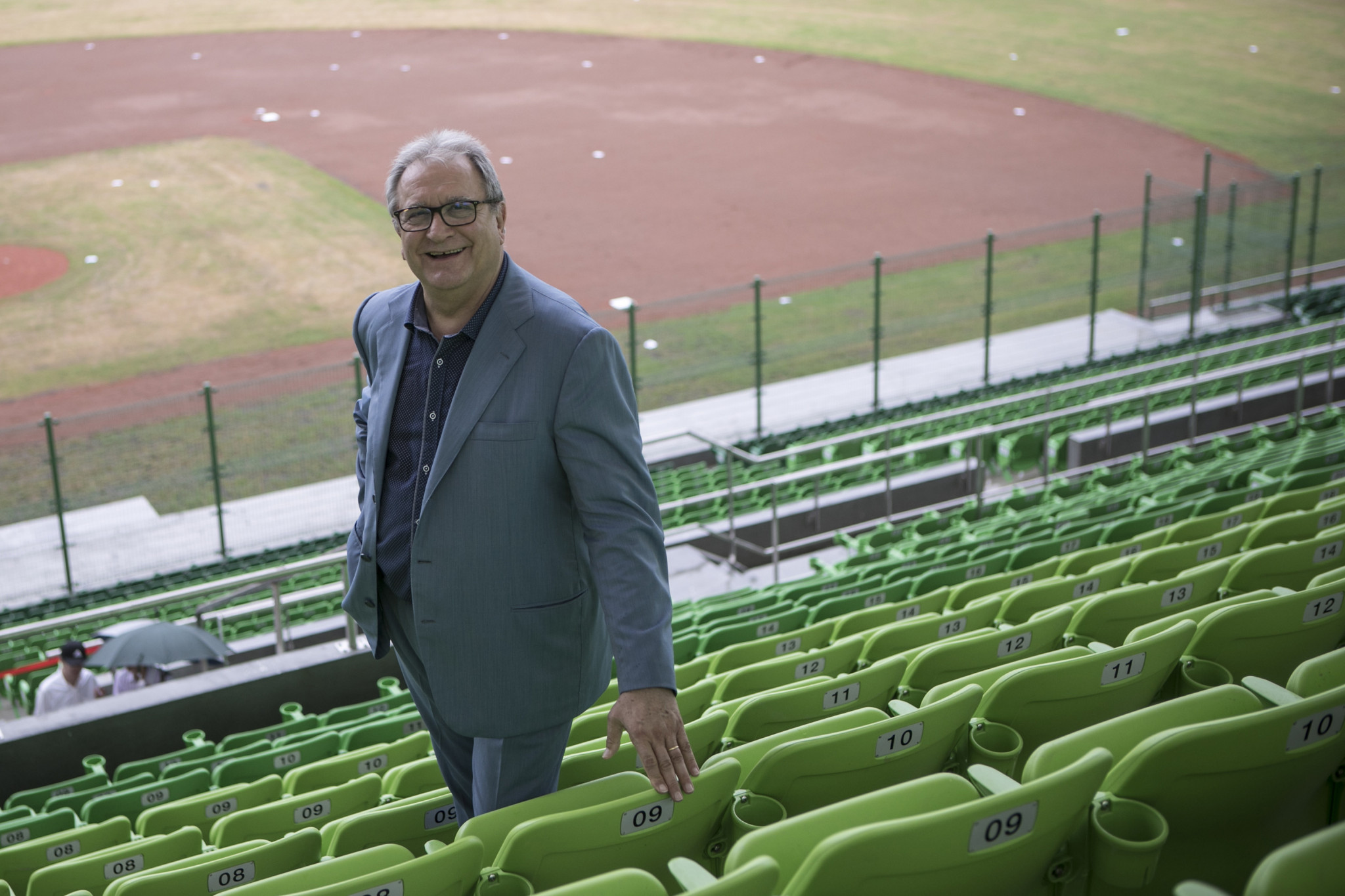 WBSC President Fraccari underlines commitment to connecting young people with baseball and softball
