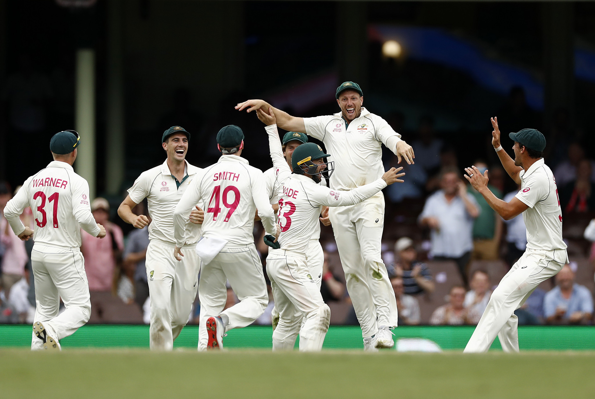 Australia have overtaken India at the top of the World Test Championship standings following the ICC's decision to change the points system ©Getty Images