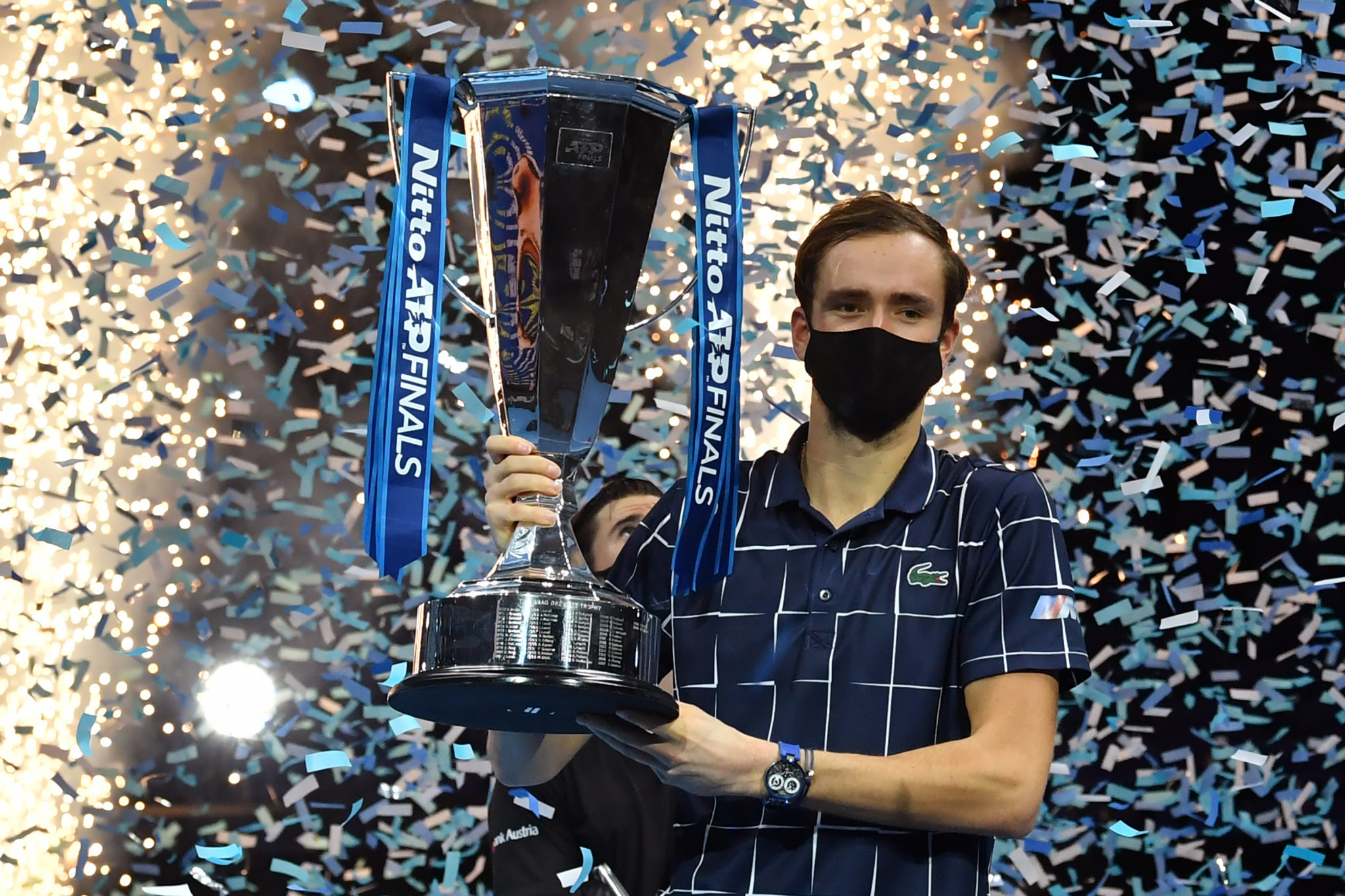 Daniil Medvedev won the ATP Finals for the first time ©Getty Images