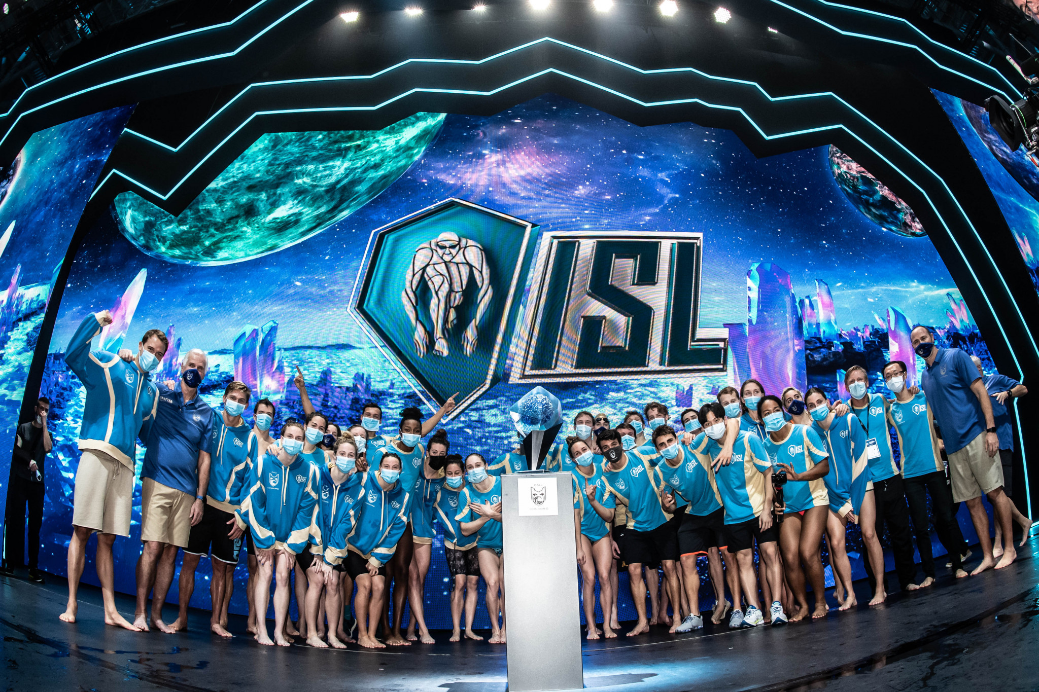 Cali Condors went unbeaten en route to being crowned ISL champions ©ISL